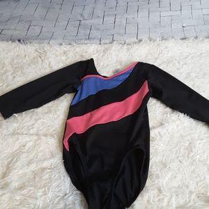 3/$30 Danskin Freestyle leotard blue pink black M